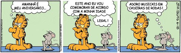 HQ: Aniversário [Especial Garfield 30 Anos]